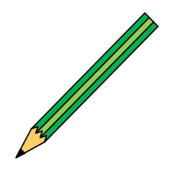 鉛筆のイラスト|フリー素材 イラストカット.com
