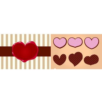 バレンタインデー – クリスマス・ハロウィン、お正月イラストEVENTs Design