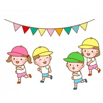 幼稚園の運動会のイラスト | イラスト無料・かわいいテンプレート