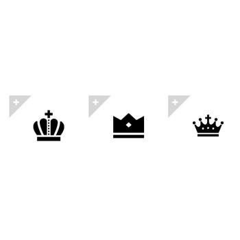 王冠 | アイコン素材ダウンロードサイト「icooon-mono」 | 商用利用可能なアイコン素材が無料(フリー)ダウンロードできるサイト