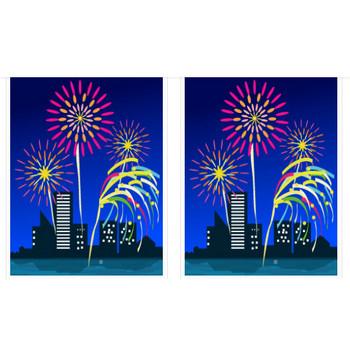 花火のイラスト | イラスト素材パラダイス 商用利用無料のイラスト素材
