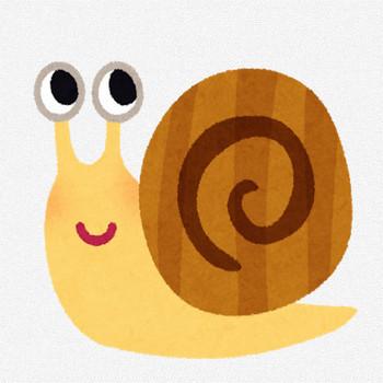 カタツムリのキャラクター | かわいいフリー素材集 いらすとや