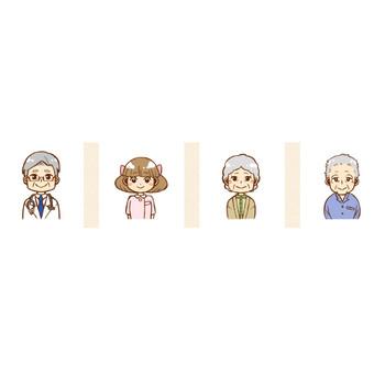 人物 - フリー素材・看護職イラスト集 | 福島看護職ナビ