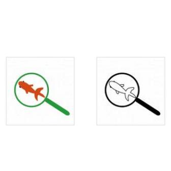 ワード・エクセル・パワーポイントで使える金魚すくいのイラスト