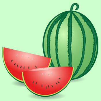 果物|無料イラスト|ダウンロード|PNG/西瓜1