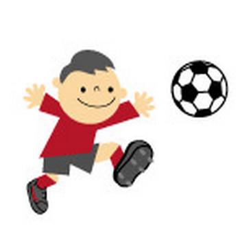 サッカーのイラスト-無料イラスト/フリー素材