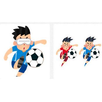 サッカーの検索結果 | かわいいフリー素材集 いらすとや