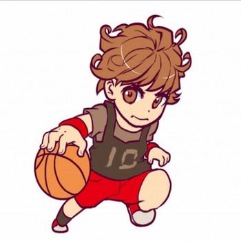 女性のバスケットボールの選手のイラスト - 無料イラストのIMT 商用OK、加工OK