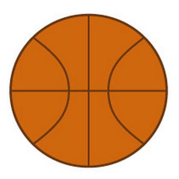 バスケットボールのイラスト【スポーツ・バスケのイラスト】【無料イラスト素材】: 無料イラスト素材 イラストほし