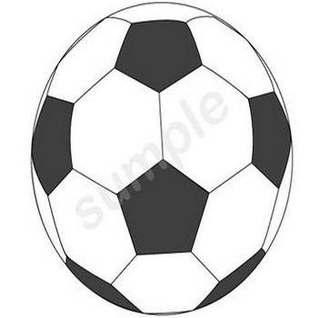0058サッカーボール/フリーイラストのダウンロード