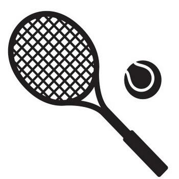 テニスボール・ラケット・コートの無料イラスト|AI・EPSの無料イラストレーター素材なら無料イラスト素材.com