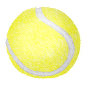 テニスボールの無料イラスト | フリーイラスト素材集 ジャパクリップ