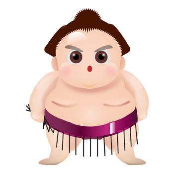 相撲・力士のイラスト | 無料イラスト素材集|Lemon
