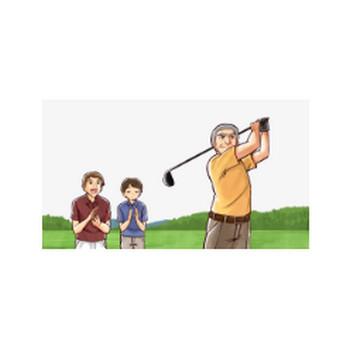 ゴルフのフリーイラスト画像素材【商用無料】 | アイキャッチャー
