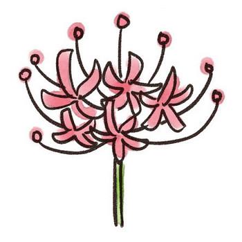 彼岸花のイラスト(花): ゆるかわいい無料イラスト素材集