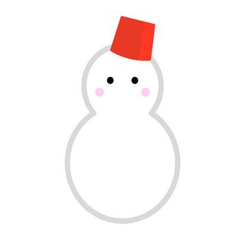 かわいい雪だるまのイラスト | 無料のフリー素材 イラストエイト