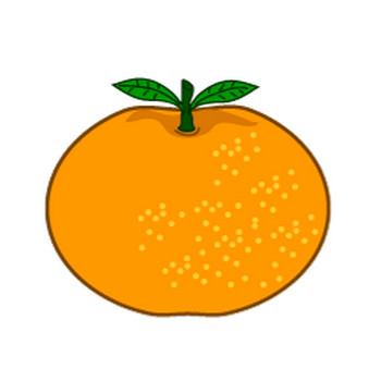 【まとめ】みかん・オレンジのフリーイラスト素材集|イラストイメージ