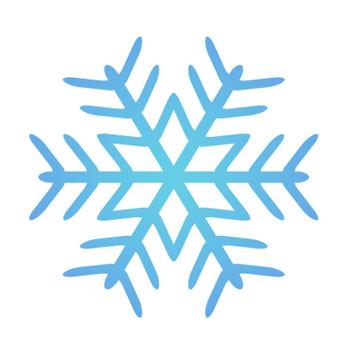 雪の結晶のイラスト02 | 無料のフリー素材 イラストエイト