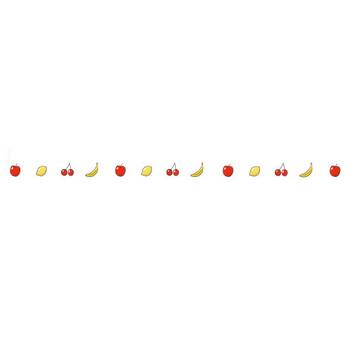 バナナ | 罫線・飾り罫ライン素材 FREE LINE DESIGN