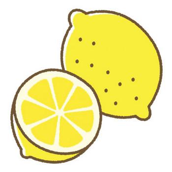 レモンのイラスト | 無料フリーイラスト素材集【Frame illust】