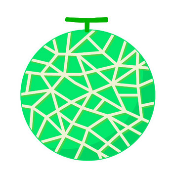 メロンのイラスト | 無料のフリー素材 イラストエイト