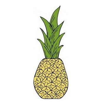 パイナップルのクリップアート クリップ アート, フリー クリップ アート - ClipartLogo.com