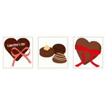 チョコレート | フリーイラスト素材のぴくらいく|商用利用可能です