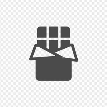 チョコレートアイコン1 | アイコン素材ダウンロードサイト「icooon-mono」 | 商用利用可能なアイコン素材が無料(フリー)ダウンロードできるサイト