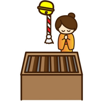 初詣のイラスト - 無料イラストのIMT 商用OK、加工OK