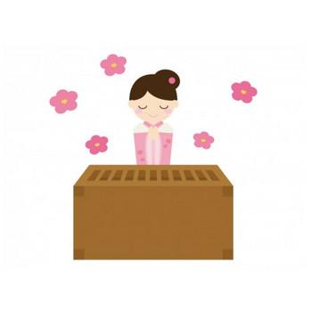初詣のお参りのイラスト | イラスト無料・かわいいテンプレート