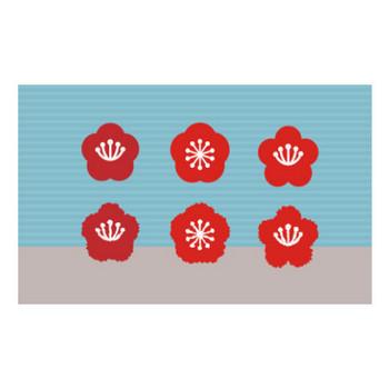 梅の花 イラスト | EC design(デザイン)
