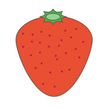 イチゴ/苺|Strawberry|無料イラスト|配布サイト|クリップアート素材