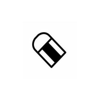 消しゴム|シルエット イラストの無料ダウンロードサイト「シルエットAC」