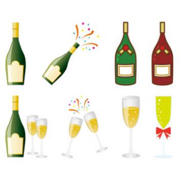 シャンパン - GAHAG | 著作権フリー写真・イラスト素材集
