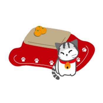 無料イラスト/冬/寒中見舞いイラスト/無料素材