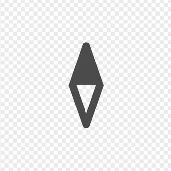 コンパスアイコン | アイコン素材ダウンロードサイト「icooon-mono」 | 商用利用可能なアイコン素材が無料(フリー)ダウンロードできるサイト