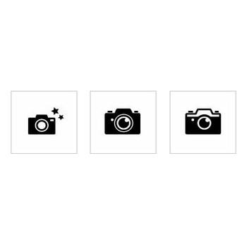 カメラ|シルエット イラストの無料ダウンロードサイト「シルエットAC」