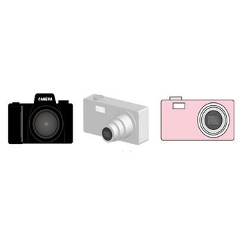 カメラのイラスト素材フリー