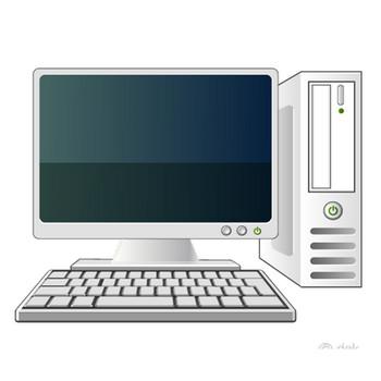 パソコンの無料イラスト素材|イラストイメージ