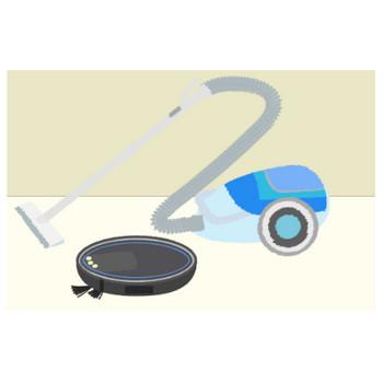 かわいい掃除機のイラスト - 無料の生活家電の素材 - チコデザ
