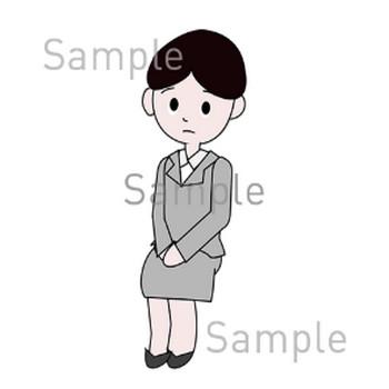 女の子の無料イラスト素材|登録不要のイラストぱーく