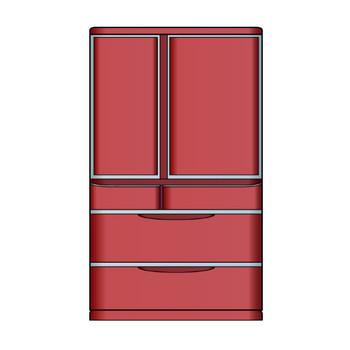 6月21日冷蔵庫の日-冷蔵庫のイラスト|無料ビジネスイラスト素材のビジソザ