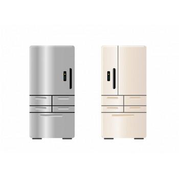 冷蔵庫・電化製品イラスト素材01 | イラスト無料・かわいいテンプレート