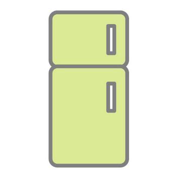 冷蔵庫|無料アイコン素材集|イラスト|クリップアート