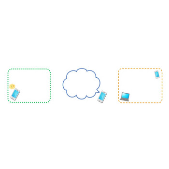 スマートフォン | 無料イラスト かわいいフリー素材集 フレームぽけっと