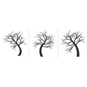 手描きで描いた可愛い木のイラスト無料素材集 - 28個 - チコデザ
