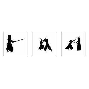 剣道|シルエット イラストの無料ダウンロードサイト「シルエットAC」