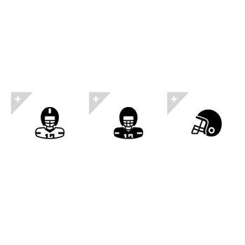 アメリカンフットボール | アイコン素材ダウンロードサイト「icooon-mono」 | 商用利用可能なアイコン素材が無料(フリー)ダウンロードできるサイト