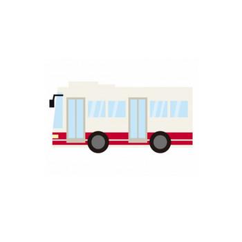 路線バスのイラスト | イラスト無料・かわいいテンプレート