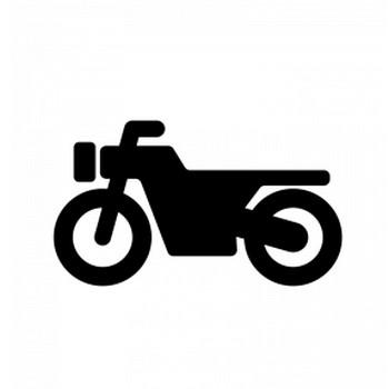 オートバイのシルエット | 無料のAi・PNG白黒シルエットイラスト